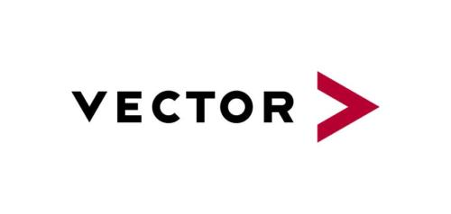 Vector Logo black red RGB
